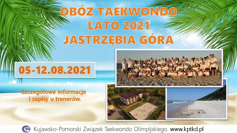 Jastrzębia Góra Obóz 2021